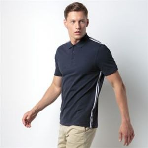 Team style slim fit polo shirt Thumbnail