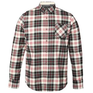 Ernest - long sleeve brushed wide check shirt Thumbnail
