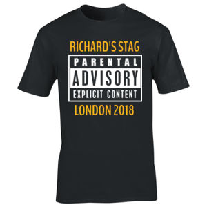 Parental Advisory Stag Design Thumbnail