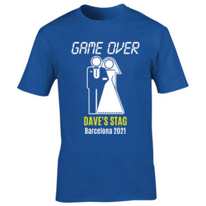 Game Over Stag Design Thumbnail